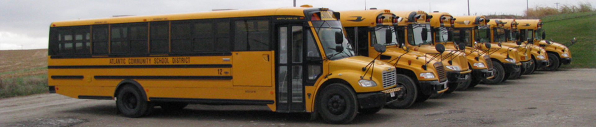 District Banner School Buses