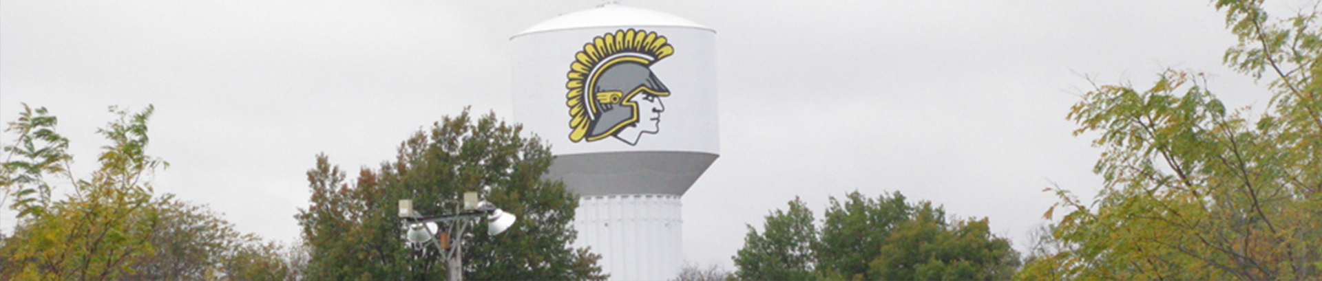 District Banner Water Tower